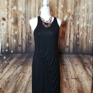 Elegant Black Gap Maxi Dress